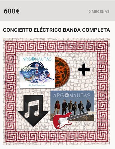 Concierto eléctrico banda completa