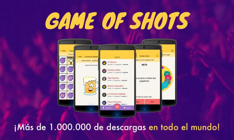 ¡La comunidad de #gameofshots no para de crecer!
