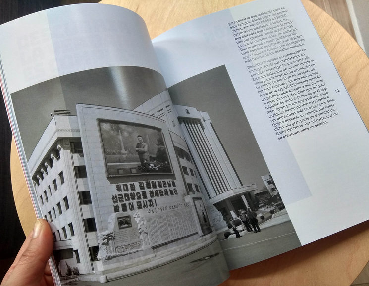 Páginas interiores *Diario de un País Orwelliano*
