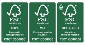 Tipos de papel FSC
