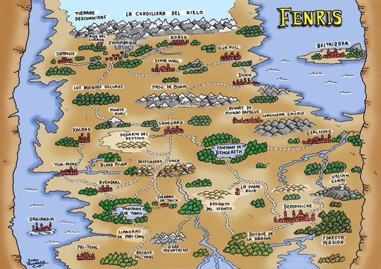 Mapa de Fenris
