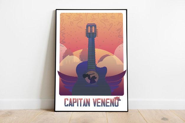 ¡Habéis conseguido la lámina del Capitán Veneno!