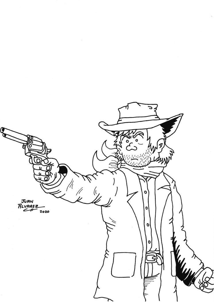 Dibujo de Jack - tinta