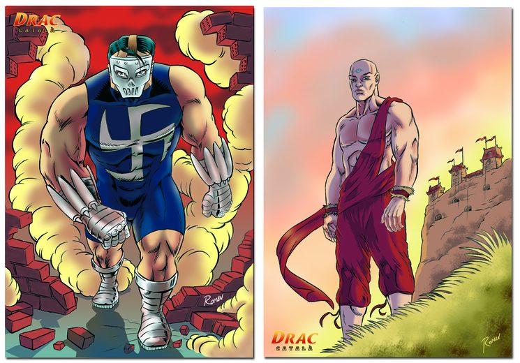Comença a col.leccionar les il·lustracions amb el personatges del Drac!