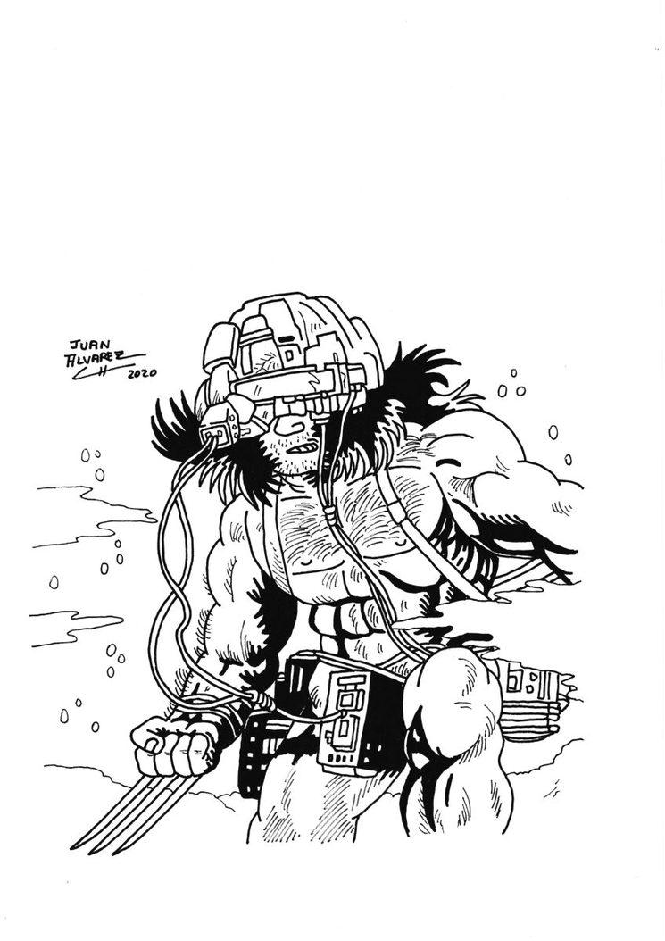 Wolverine (Lobezno) personaje de Marvel Comics
