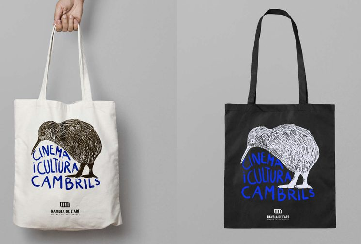 totebags de diferents colors