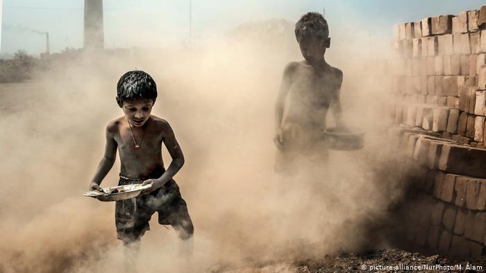 Fotografía realizada en una fábrica de Bangladesh.