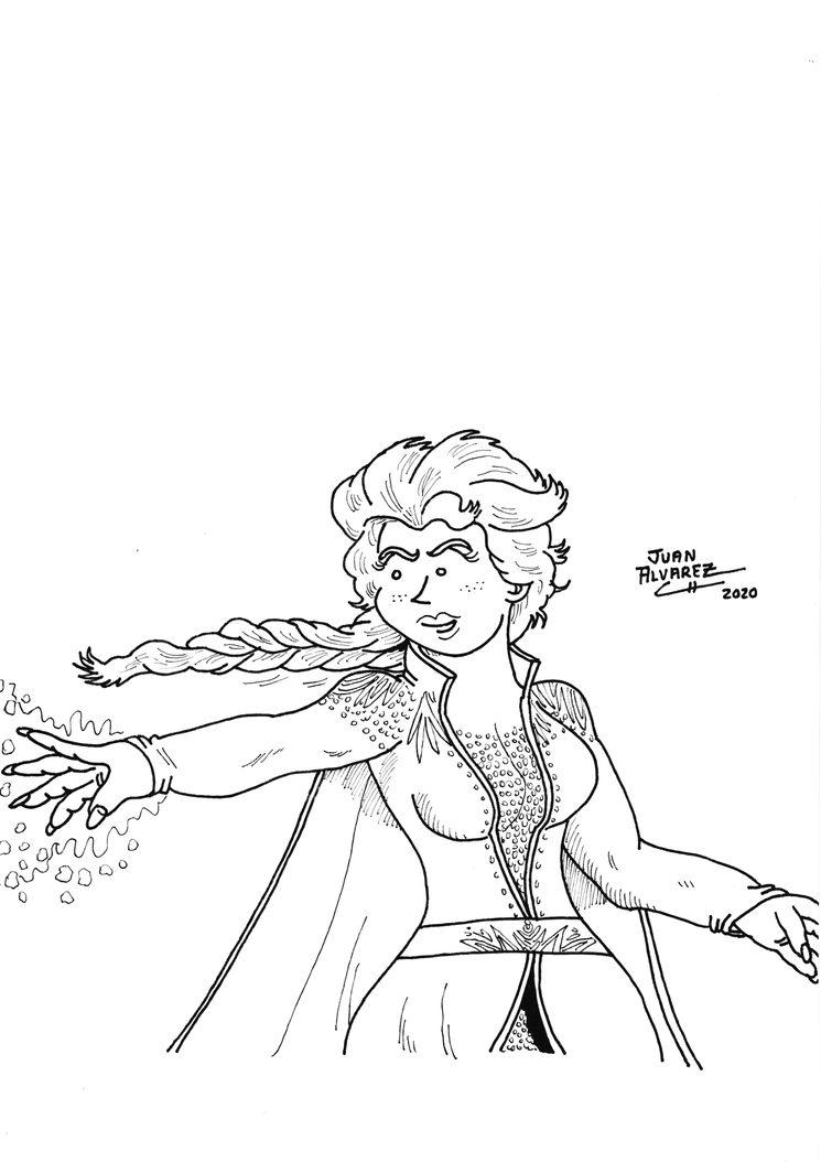 Elsa de Frozen 2