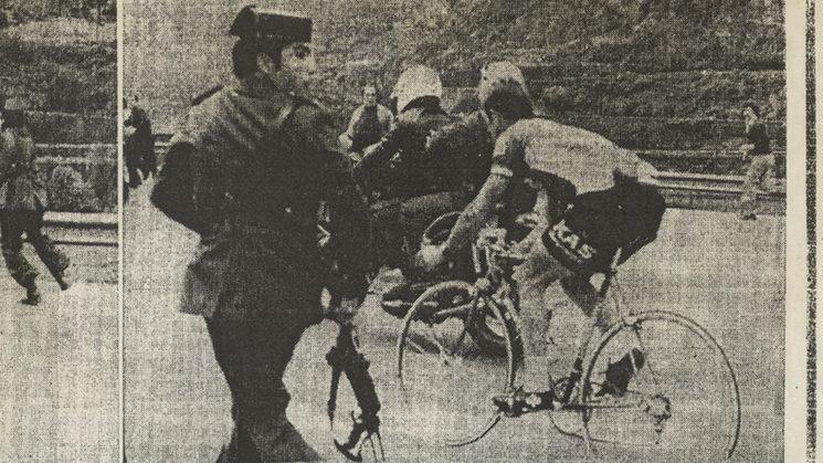 Redada antidoping en la vuelta ciclista.