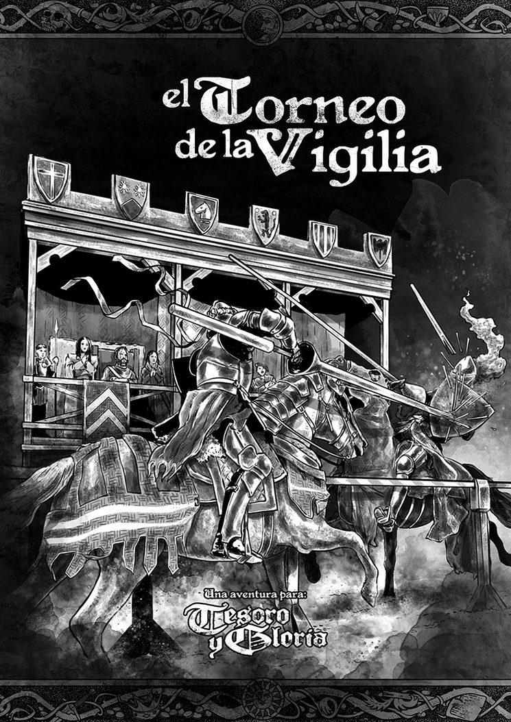 La portada de la aventura El Torneo de la Vigilia