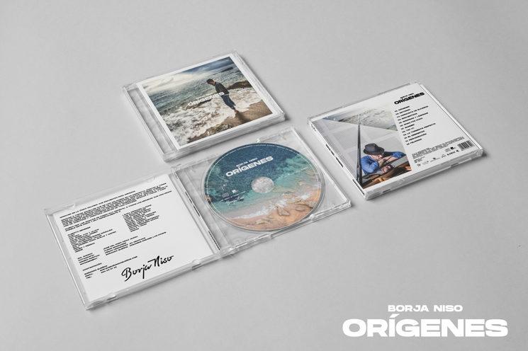 Así quedó mi primer álbum, Orígenes, gracias a vuestra ayuda