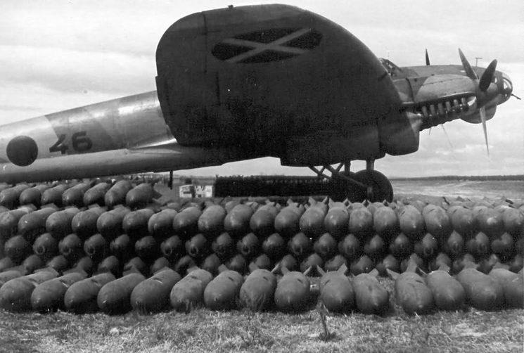 Un He111 y su mortífera carga