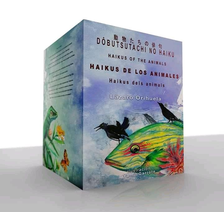 """Provisional cover de """"Haikus of the animals"""" ..."""