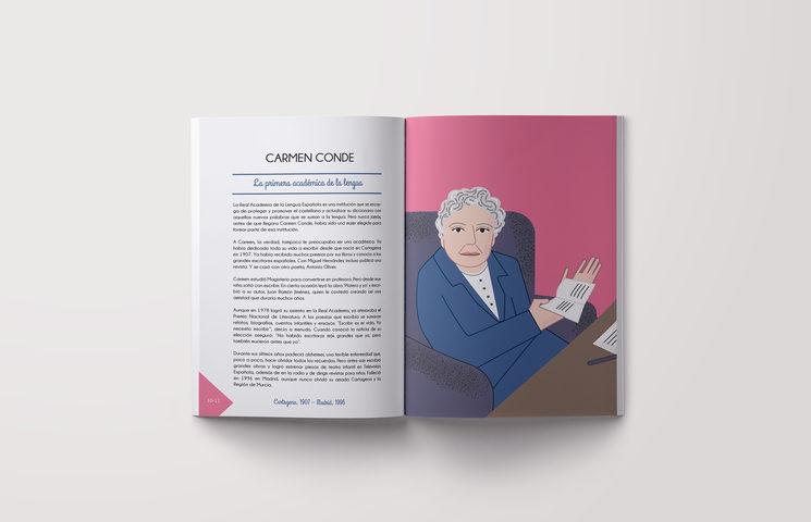Carmen Conde, escritora, primera española académica de la lengua