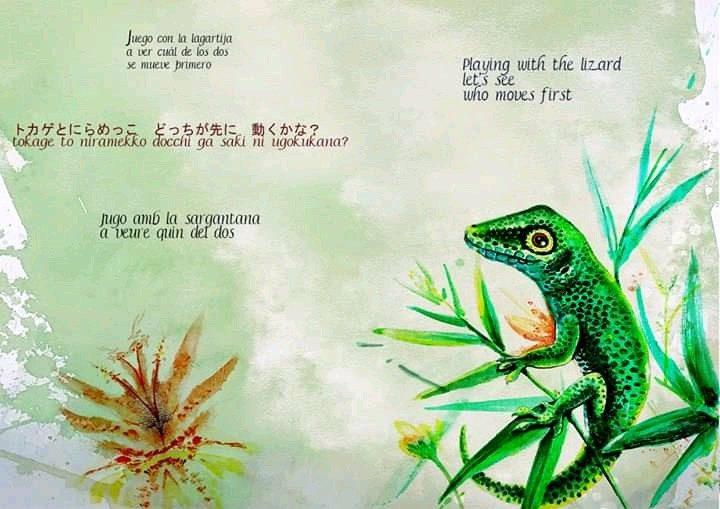 the lizard ...