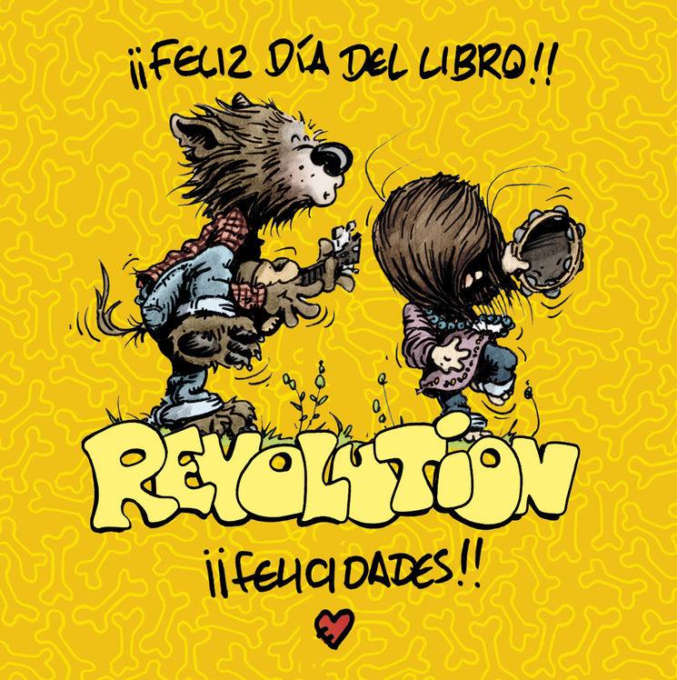 ¡¡Feliz día del libro!! Hoy regala Revolution