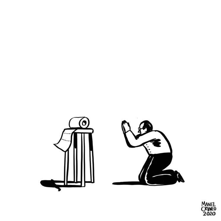 Home orando.