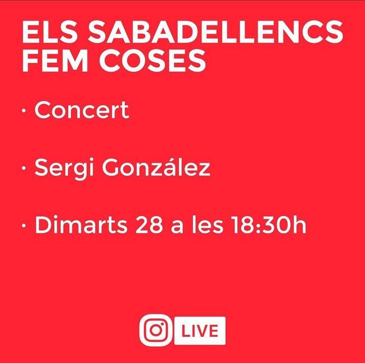 Concert a les 18:30