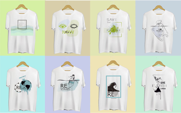 8 unisex designs from which you can choose your favorite :)