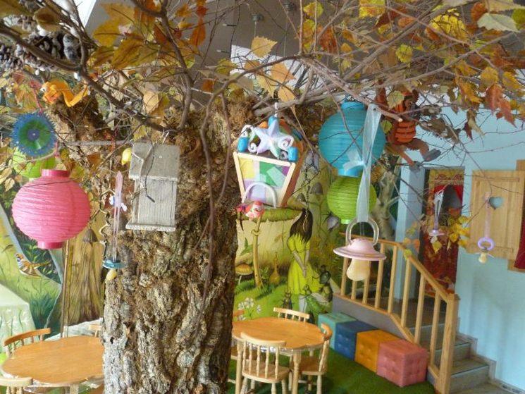 este es nuestro árbol de los chupetes
