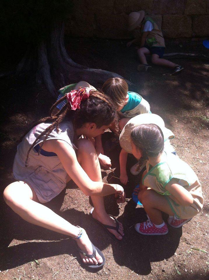 Con nuestra querida Patricia también contamos todos los años, pues es genial en campamentos