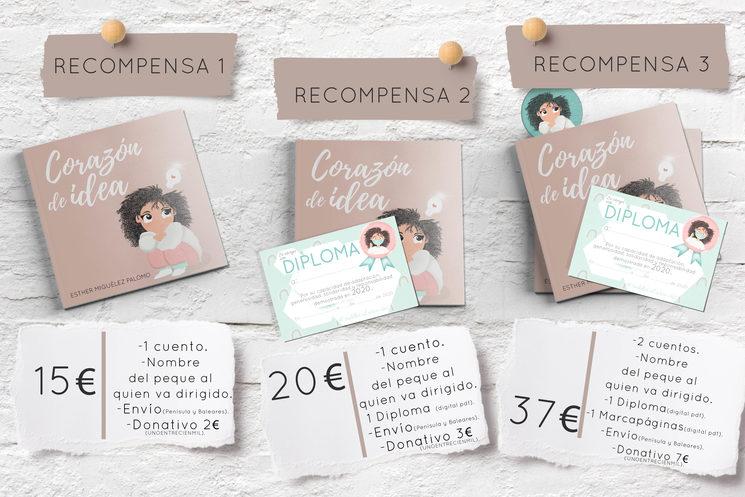 "Recompensas ""Corazón de idea"""