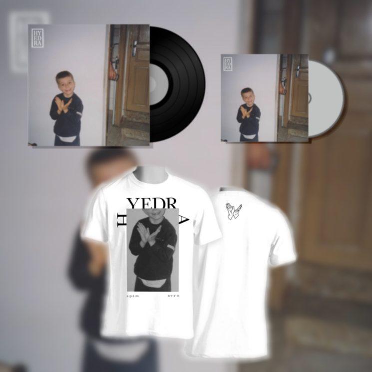 Portada, título del disco y diseño de la camiseta