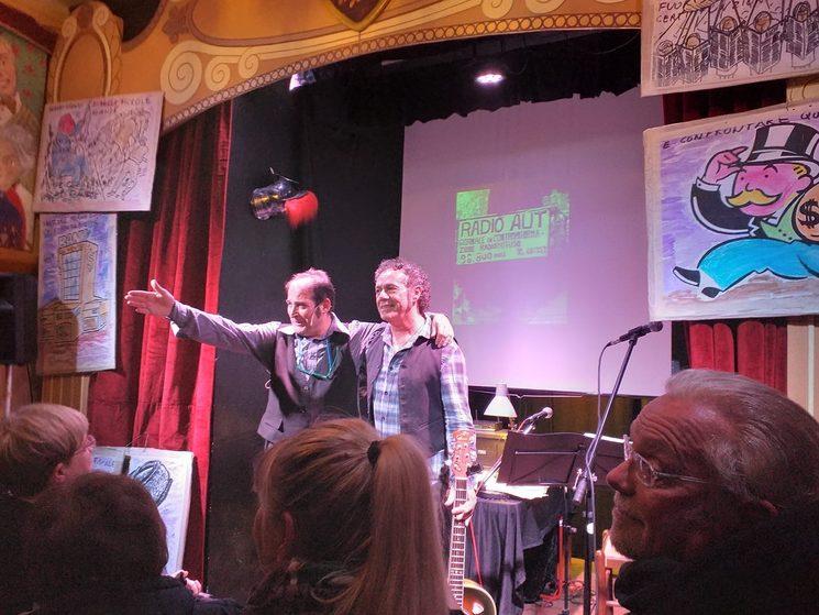 """Applausi per """"Caro Peppino"""" con Ignazio Chessa e Claudio Gabriel Sanna - 10 repliche sold -out"""