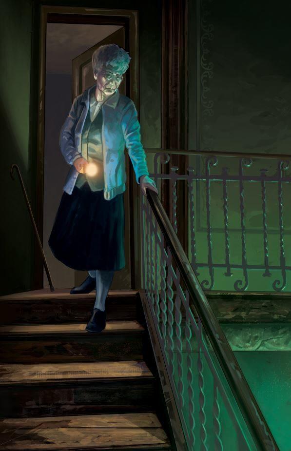Ilustración de Andoni Fernandez para Lovecraftesque