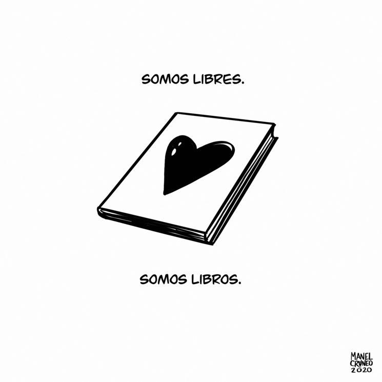 Somos libres, somos libros.