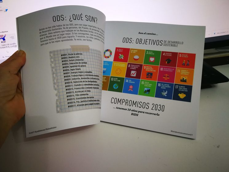 Los ODS como el camino a seguir para jóvenes y niños