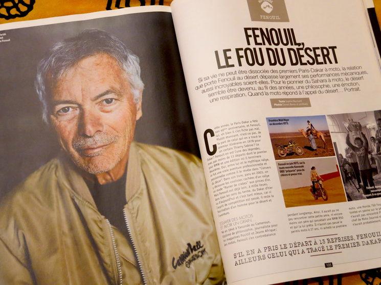 Un extenso artículo sobre Fenouil, una institución en el mundo del raid en Francia.