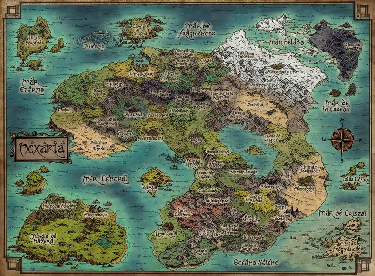 Antiguo Continente de Nexaria