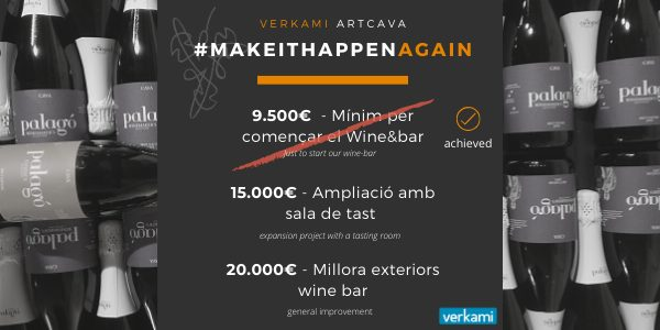 Aprofita't d'Artcava 😉 | Take advantage of Artcava's Verkami crowdfunding 😉