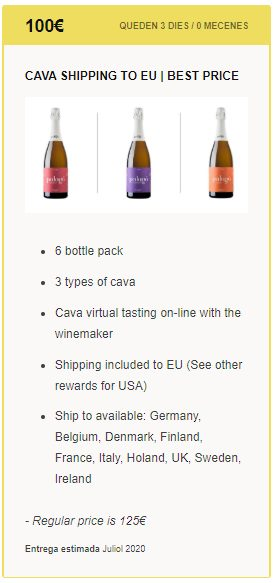 Shiping EU offer sample