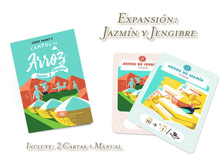 Expansión: Jazmín y Jengibre