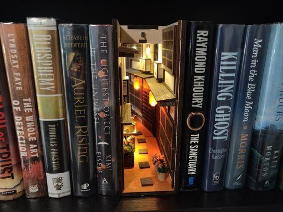 Booknook - Mundos en miniatura entre tus libros