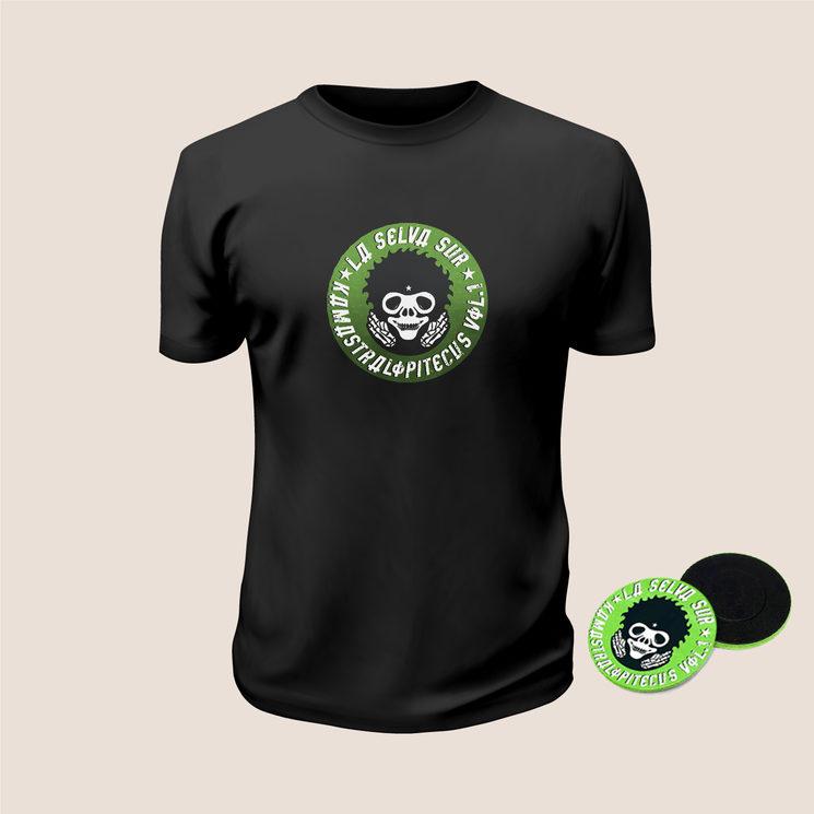 CD + Camiseta + Chapa + Envío