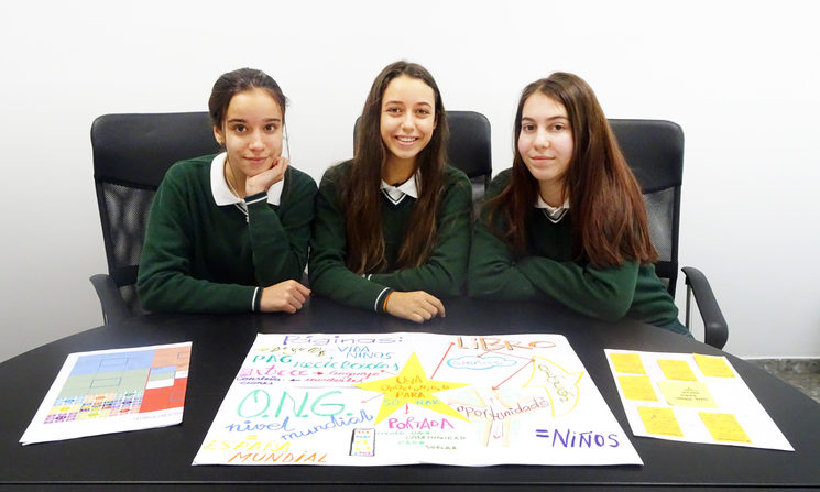 Ángela, Alejandra y Nadia - Creadoras del proyecto