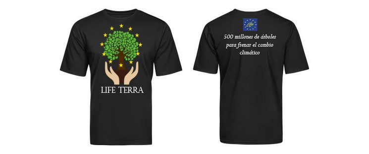 LIFE Terra T-shirts - preliminary design