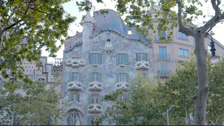 Still of Casa Batlló, March 2020