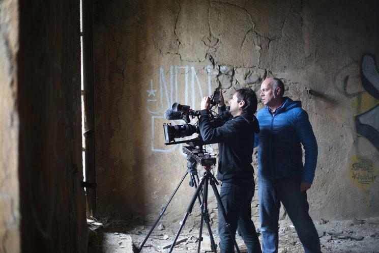 Iban Toledo e Iñaki Alforja directores del documental