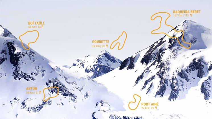 47 estaciones de esquí
