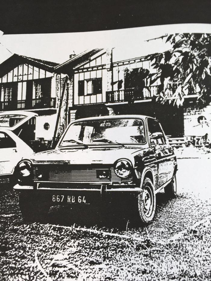 Fotografía coche donde desapareció \