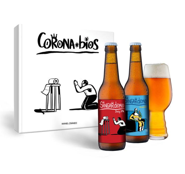"PACK ""SINGARDEMO"" (libro+cervexas)"