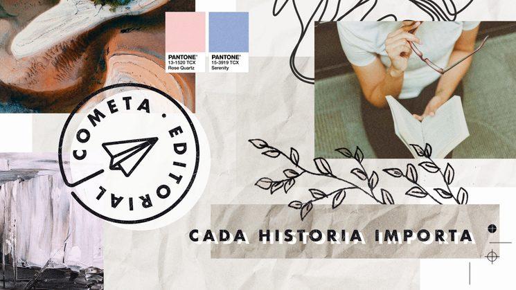 Cometa Editorial es un proyecto que surge a raíz de un trabajo final del Máster en Edición de la BSM-UPF de Barcelona.