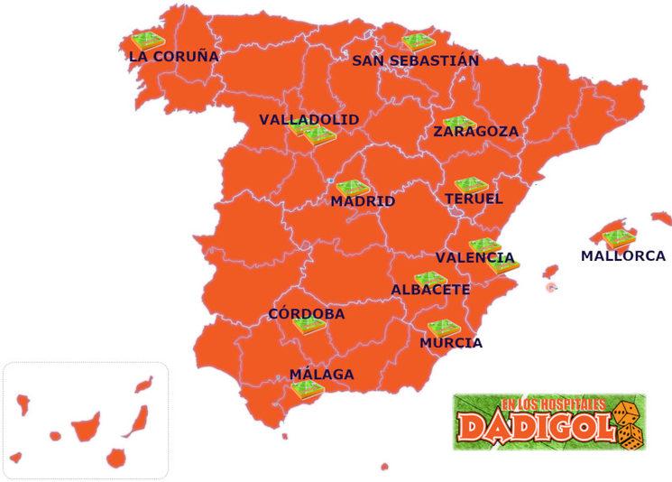 Actualizamos el mapa de DADIGOL