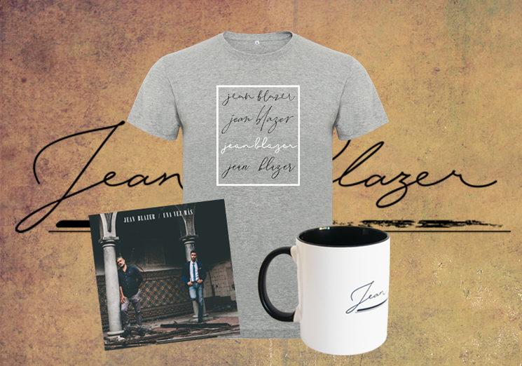 CD y merchandising de Jean Blazer exclusivo para esta campaña.