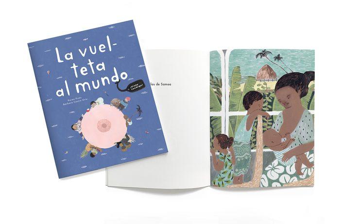 Libro mini de La vuelteta al mundo.