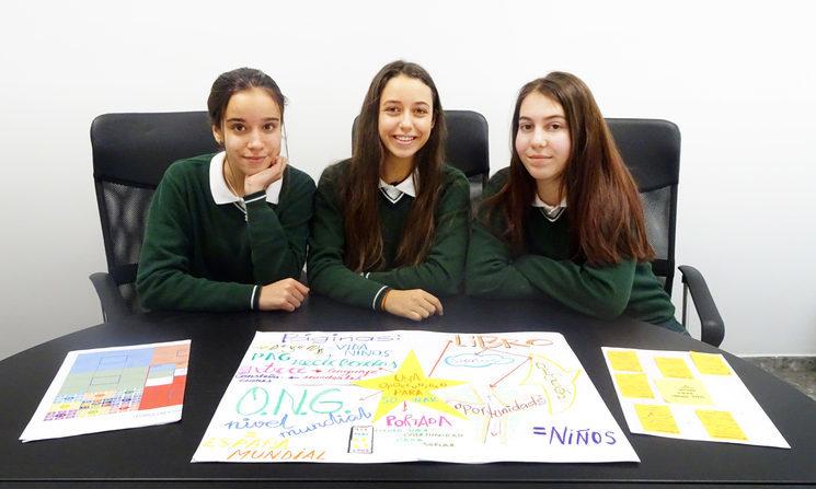 Ángela, Alejandra y Nadia